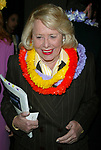 Liz Smith attends The New York Restoration Project  Annual Hulaween Gala Benefit on October 23, 2002 at the Mariott Marquis Hotel in New York City.