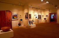 Art gallery at the Hui Noeau Visual Arts Center, Makawao, Maui