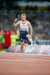 Britain's Jordan Howe competes in the Men's T35 100m final - Athletics Stadium London Paralympic Games Athletics 1.9.12