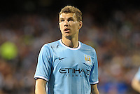 Edin Dzeko, Manchester City.Manchester City defeated Chelsea 4-3 in an international friendly at Busch Stadium, St Louis, Missouri.