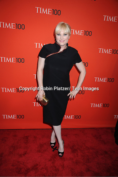 Meghan McCain attending The Time 100 Most Influential People in the World Gala on April 26, 2011 at Frederick P Rose Hall in The Time Warner Center in New York City.