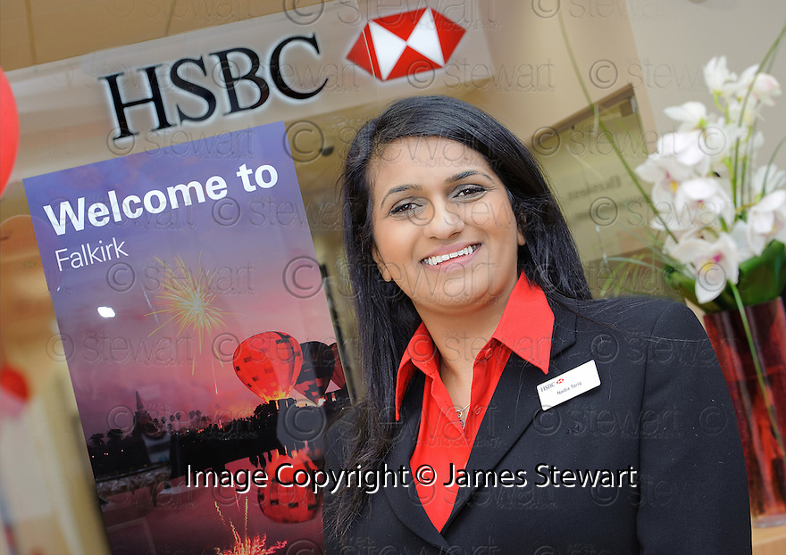 HSBC Falkirk :  Customer Service Officer, Nadia Tariq.