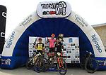 2019 Trentino MTB Challenge - Ride the Nature - 1000 Grobbe Bike Challenge - 100 Km dei Forti  il 09/06/2019 a Lavarone,  podium donne 50 km Enrica Furlan (SBTM), Chiara Burato (Omap Cicli Andreis), Veronica Di Fant (Vertical KTM) <br />  © Pierre Teyssot / Mosna