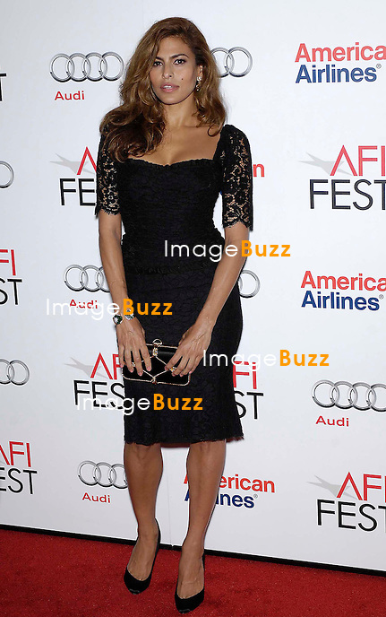 Eva Mendes, The 2012 AFI Film Fest presents the premiere's for On The Road and Holy Motors at Grauman's Chinese Theatre in Hollywood. Los Angeles, November 3, 2012.