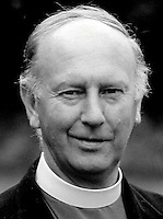 Most Rev Donald Caird, Bishop of Meath & Kildare, Rep of Ireland, Church of Ireland, Anglican, 197806000185DC1.<br /> <br /> Copyright Image from Victor Patterson,<br /> 54 Dorchester Park, <br /> Belfast, UK, BT9 6RJ<br /> <br /> t1: +44 28 9066 1296 (from Rep of Ireland 048 9066 1296)<br /> t2: +44 28 9002 2446 (from Rep of Ireland 048 9002 2446)<br /> <br /> m: +44 7802 353836<br /> <br /> e: victorpatterson@me.com<br /> www.victorpatterson.com<br /> <br /> Please see my Terms and Conditions of Use at www.victorpatterson.com. It is IMPORTANT that you familiarise yourself with them.<br /> <br /> Images used on the Internet must be visibly watermarked i.e. © Victor Patterson<br /> within the body of the image and copyright metadata must not be deleted. Images <br /> used on the Internet have a size restriction of 4kbs and will be chargeable at current<br />  NUJ rates unless agreed otherwise.<br /> <br /> This image is only available for the use of the download recipient i.e. television station, newspaper, magazine, book publisher, etc, and must not be passed on to any third <br /> party. It is also downloaded on condition that each and every usage is notified within 7 days to victorpatterson@me.com<br /> <br /> The right of Victor Patterson to be identified as the author is asserted in accordance with The Copyright Designs And Patents Act (1988). All moral rights are asserted.
