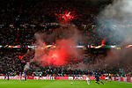 Ajax fans let off flares during the UEFA Europa League Final match at the Friends Arena, Stockholm. Picture date: May 24th, 2017.Picture credit should read: Matt McNulty/Sportimage