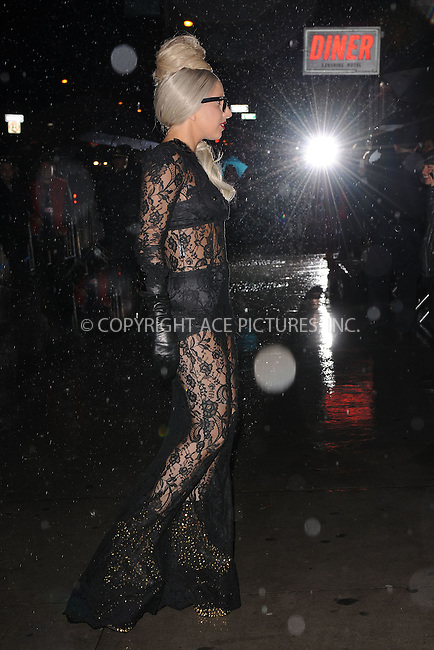 WWW.ACEPIXS.COM . . . . . .November 22, 2011, New York City....Singer Lady Gaga attends the 'Lady Gaga x Terry Richardson' book launch party at The New Museum on November 22, 2011 in New York City ....Please byline: KRISTIN CALLAHAN - ACEPIXS.COM.. . . . . . ..Ace Pictures, Inc: ..tel: (212) 243 8787 or (646) 769 0430..e-mail: info@acepixs.com..web: http://www.acepixs.com .