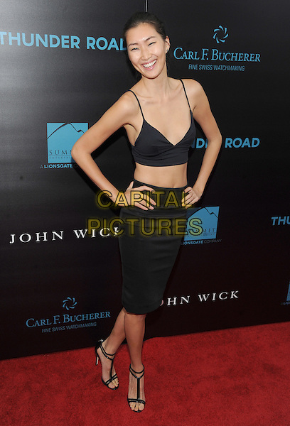 New York, NY- October 13: Ping Hue attends the Summit Entertainment and Thunder Road Pictures New York screening of John Wick at the Regal Union Square on October 13, 2014 in New York City.  <br /> CAP/RTNSTV<br /> &copy;RTNSTV/MPI/Capital Pictures