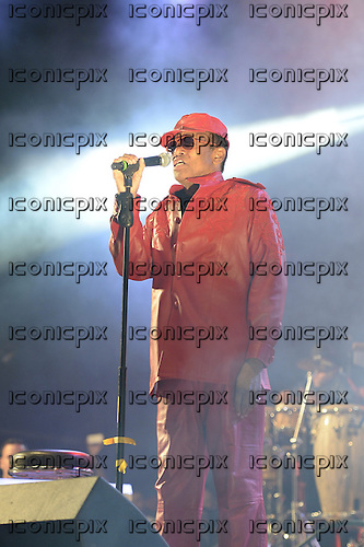 BOBBY WOMACK - performing live on the West Holts Stage on Day 3 of the 2013 Glastonbury Festival held at Worthy Farm Pilton Somerset UK - 30 Jun 2013.  Photo credit: George Chin/IconicPix