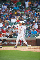 Nick Allen (10) of Francis Parker High School in San Diego, California during the Under Armour All-American Game presented by Baseball Factory on July 23, 2016 at Wrigley Field in Chicago, Illinois.  (Mike Janes/Four Seam Images)