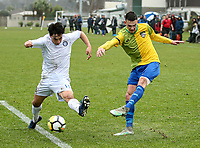 Action from the 3rd Round ISPS Handa Chatham Cup match Christchurch United and Cashmere Technical at Garrick Memorial Park in Christchurch, New Zealand on Saturday, 15 June 2019. Photo: Martin Hunter/ lintottphoto.co.nz