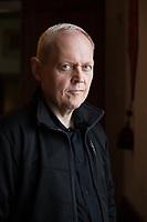 Harald Gilber studiato letteratura inglese e storia moderna e contemporanea. Prima di diventare regista teatrale. E' uno scrittore tedesco. Mantova 6 settembre 2019. Photo Leonardo Cendamo
