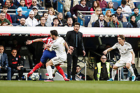 1st February 2020; Estadio Santiago Bernabeu, Madrid, Spain; La Liga Football, Real Madrid versus Atletico de Madrid;  Diego Pablo Simeone, the Coach of Atletico de Madrid