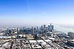 Detroit aerial December 2007