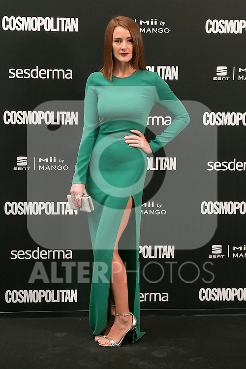 Ana Polvorosa attend the photocall of the Cosmopolitan Fun Fearless Female 2014 Awards at the Ritz Hotel in Madrid, Spain. October 20, 2014. (ALTERPHOTOS/Carlos Dafonte)