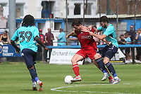Ben Dempsey of Charlton tries to stop Welling's Luke Rooney during Welling United vs Charlton Athletic, Friendly Match Football at the Park View Road Ground on 13th July 2019