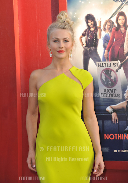 "Julianne Hough at the world premiere of her new movie ""Rock of Ages"" at Grauman's Chinese Theatre, Hollywood..June 9, 2012  Los Angeles, CA.Picture: Paul Smith / Featureflash"