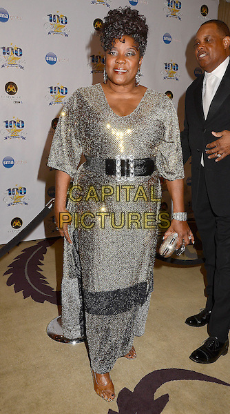 Loretta Devine.23nd Annual Night of 100 Stars Awards Gala hosted by Norby Walters celebrating the 85th Annual Academy Awards held at the Beverly Hills Hotel, Beverly Hills, California, USA..February 24th, 2013.full length black belt gold sparkly dress   .CAP/ADM/BT.©Birdie Thompson/AdMedia/Capital Pictures.
