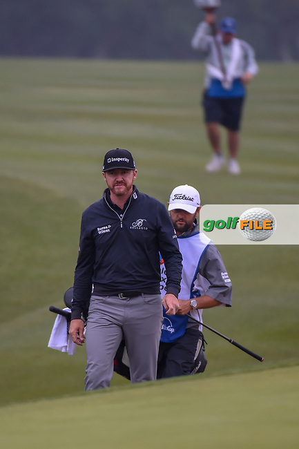 Jimmy Walker (USA) approaches the green on 1 during Round 3 of the Valero Texas Open, AT&T Oaks Course, TPC San Antonio, San Antonio, Texas, USA. 4/21/2018.<br /> Picture: Golffile | Ken Murray<br /> <br /> <br /> All photo usage must carry mandatory copyright credit (© Golffile | Ken Murray)