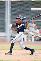Carlos George - Milwaukee Brewers - 2010 Instructional League.Photo by:  Bill Mitchell/Four Seam Images..