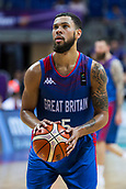 7th September 2017, Fenerbahce Arena, Istanbul, Turkey; FIBA Eurobasket Group D; Russia versus Great Britain; Guard Teddy Okereafor #5 of Great Britain performs free throw during the match