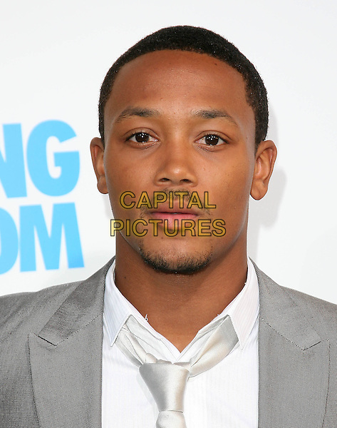 ROMEO (Percy Romeo Miller, Jr.).at The Screen Gems L.A. Premiere of Jumping the Broom held at The Cinerama Dome Theatre in Hollywood, California, USA, May 4th 2011..portrait headshot white tie grey gray silver goatee facial hair .CAP/RKE/DVS.©DVS/RockinExposures/Capital Pictures.