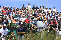 Sergio Garcia (ESP) tees off the 1st tee to start his match during Thursday's Round 1 of the 117th U.S. Open Championship 2017 held at Erin Hills, Erin, Wisconsin, USA. 15th June 2017.<br /> Picture: Eoin Clarke | Golffile<br /> <br /> <br /> All photos usage must carry mandatory copyright credit (&copy; Golffile | Eoin Clarke)