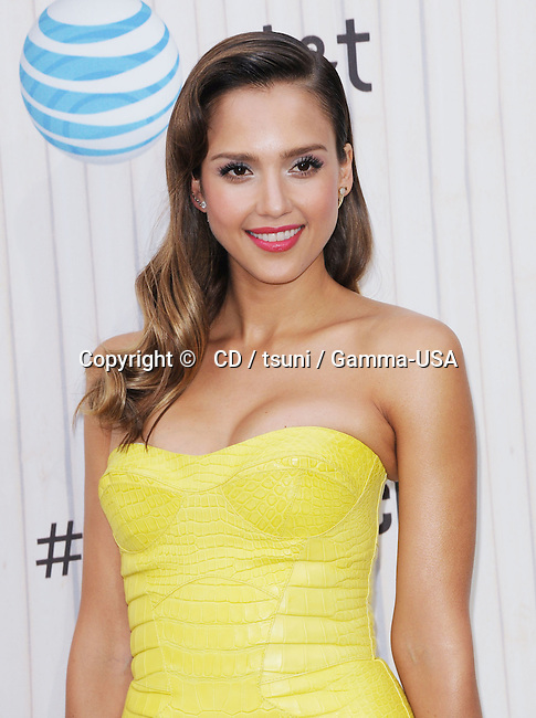 Jessica Alba  arriving at the 2013 Spike TVs Guys Choice  on the Sony Studio lot in Los Angeles.