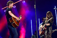 08 June 2019 - Nashville, Tennessee - Dierks Bentley, Tenille Townes. 2019 CMA Music Fest Nightly Concert held at Nissan Stadium. <br /> CAP/ADM/DMF<br /> ©DMF/ADM/Capital Pictures