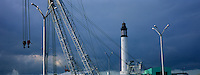 Europe/France/59/Nord/Dunkerque: Le Phare et le port