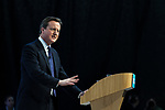 © Joel Goodman - 07973 332324 - all rights reserved . 06/03/2011 . Cardiff , UK . Prime Minister DAVID CAMERON . Day 2 of the Conservative Party Spring Conference at the Swalec Stadium . Photo credit : Joel Goodman