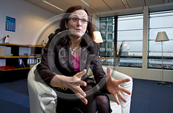 BRUSSELS - BELGIUM - 19 FEBRUARY 2010 -- Cecilia Malmström (Swe), Commissioner in charge of Home Affairs. -- PHOTO: Juha ROININEN / EUP-IMAGES