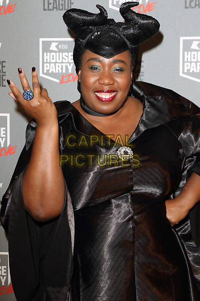Chizzy Akudolu at the KISS House Party at SSE Arena Wembley, London on Thursday 26 October 2017<br /> CAP/ROS<br /> &copy;ROS/Capital Pictures