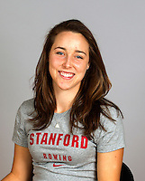 Paige Watson with Stanford women's rowing ltw team
