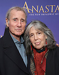 Jim Dale, Julia Schafler   attends Broadway Opening Night performance of 'Anastasia' at the Broadhurst Theatre on April 24, 2017 in New York City.