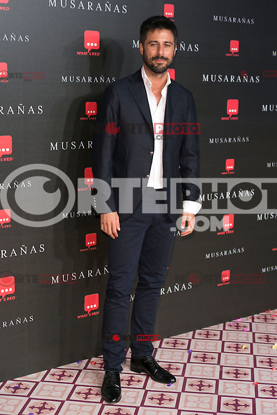 "Hugo Silva attend the Premiere of the movie ""Musaranas"" in Madrid, Spain. December 17, 2014. (ALTERPHOTOS/Carlos Dafonte) /NortePhoto /NortePhoto.com"