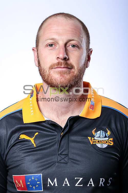 Picture by Alex Whitehead/SWpix.com - 03/04/2015 - Cricket - Yorkshire CCC Headshots - Headingley Stadium, Leeds, England - Yorkshire's Andrew Gale