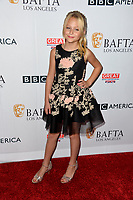 Alyvia Alyn Lind at the BAFTA Los Angeles BBC America TV Tea Party 2017 at The Beverly Hilton Hotel, Beverly Hills, USA 16 September  2017<br /> Picture: Paul Smith/Featureflash/SilverHub 0208 004 5359 sales@silverhubmedia.com