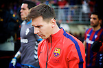 Football match during La Liga between the teams Eibar and Barça<br /> lionel messi<br /> PHOTOCALL3000 / DyD