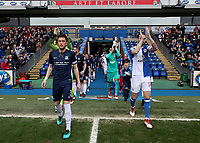 Blackburn Rovers and Southend United<br /> <br /> Photographer Rachel Holborn/CameraSport<br /> <br /> The EFL Sky Bet League One - Blackburn Rovers v Southend United - Saturday 7th April 2018 - Ewood Park - Blackburn<br /> <br /> World Copyright &copy; 2018 CameraSport. All rights reserved. 43 Linden Ave. Countesthorpe. Leicester. England. LE8 5PG - Tel: +44 (0) 116 277 4147 - admin@camerasport.com - www.camerasport.com