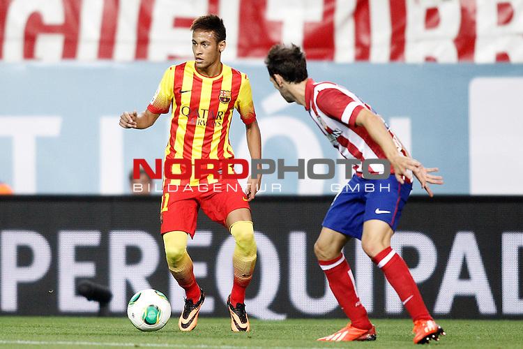 FC Barcelona's Neymar Santos Jr during Supercup of Spain 1st match.August 21,2013. Foto © nph / Acero)