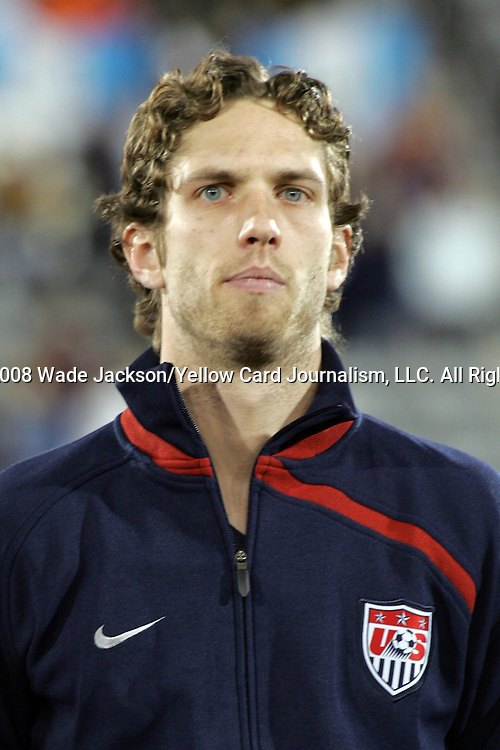 19 November 2008: Clarence Goodson (IK Start)(3) of the USA.  The United States Men's National Team defeated the visiting Guatemala Men's National Team 2-0 at Dick's Sporting Goods Park in Commerce City, Colorado in a CONCACAF semifinal round FIFA 2010 South Africa World Cup Qualifier.