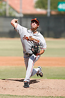 Kyle Vazquez - San Francisco Giants 2009 Instructional League .Photo by:  Bill Mitchell/Four Seam Images..