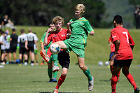 Football - National Age Group Tournament at Petone Memorial Park, Lower Hutt, New Zealand on Thursday 12 December 2019. <br /> Photo by Masanori Udagawa. <br /> www.photowellington.photoshelter.com