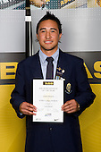 Boys Lawn Bowls winner Gregory Ruaporo from St Peter's College. ASB College Sport Young Sportperson of the Year Awards 2008 held at Eden Park, Auckland, on Thursday November 13th, 2008.