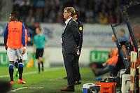 VOETBAL: HEERENVEEN: Abe Lenstra Stadion 29-08-2015, SC Heerenveen - PEC Zwolle, uitslag 1-1, trainer/coach Dwight Lodeweges , ©foto Martin de Jong