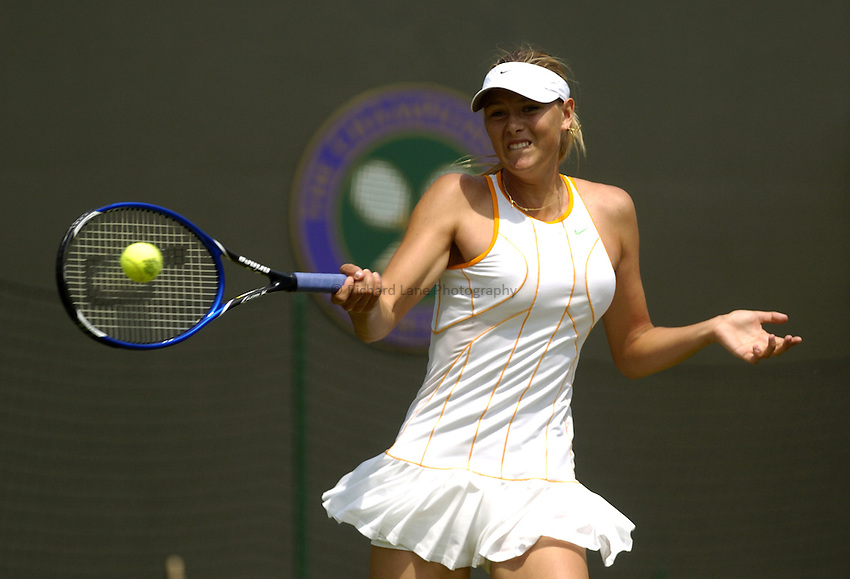 Photo. Jed Wee..Wimbledon Championships. 23/06/2005..Maria Sharapova.