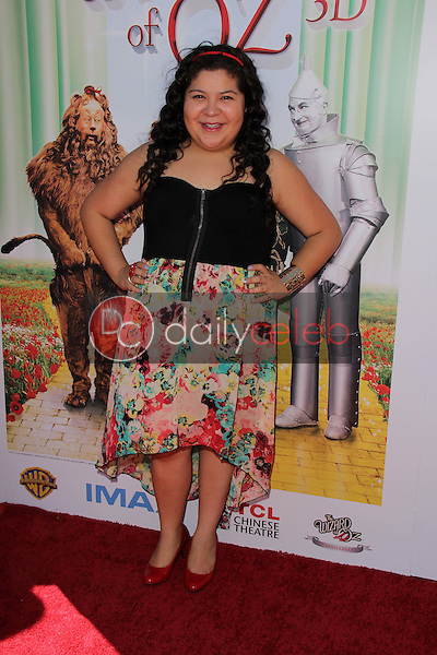 """Raini Rodriguez<br /> at """"The Wizard Of Oz 3D"""" World Premiere Screening and Grand Opening of the TCL Chinese IMAX Theater, Chinese Theater, Hollywood, CA 09-15-13<br /> David Edwards/DailyCeleb.com 818-249-4998"""