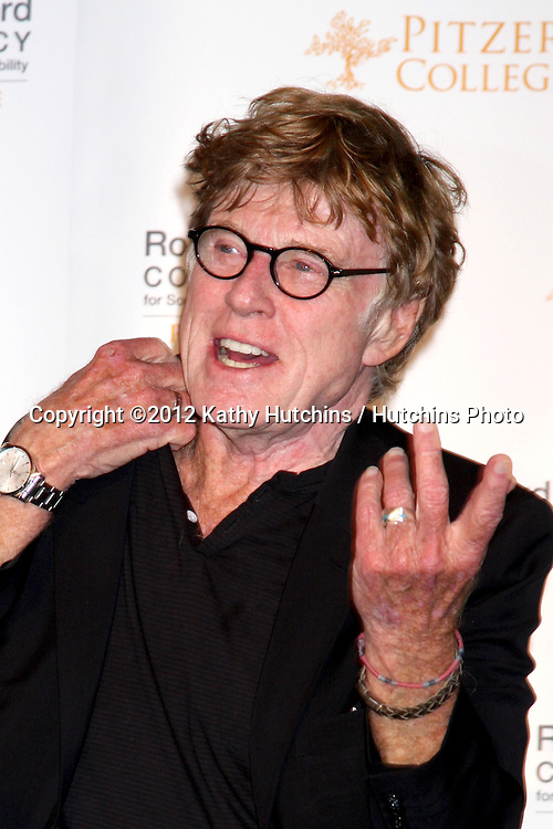 """LOS ANGELES - NOV 18:  Robert Redford at the press conference for the """"Robert Redford Conservancy"""" at Pitzer College devoted to Southern California Environmental Sustainability isssues at Los Angaeles Press Club on November 18, 2012 in Los Angeles, CA"""