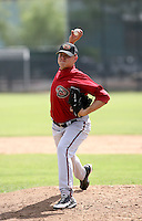 Wes Roemer / Arizona Diamondbacks 2008 Instructional League..Photo by:  Bill Mitchell/Four Seam Images